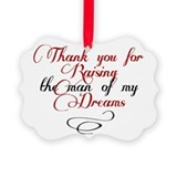 Husband Picture Frame Ornaments