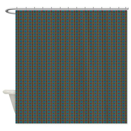 Pattern C24 Shower Curtain