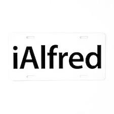 iAlfred Aluminum License Plate