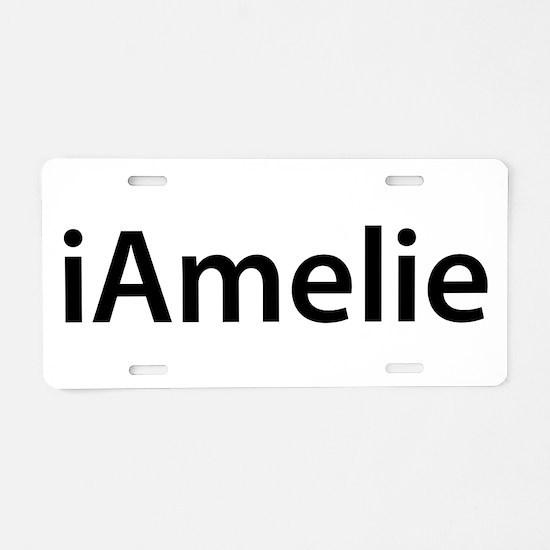 iAmelie Aluminum License Plate