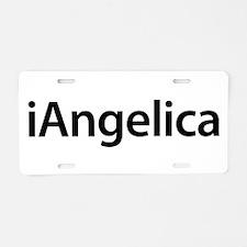iAngelica Aluminum License Plate