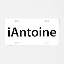 iAntoine Aluminum License Plate