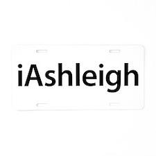 iAshleigh Aluminum License Plate