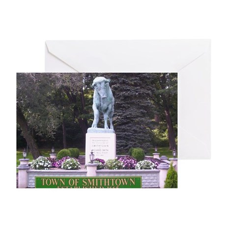 The Smithtown bull Greeting Cards (Pk of 10)