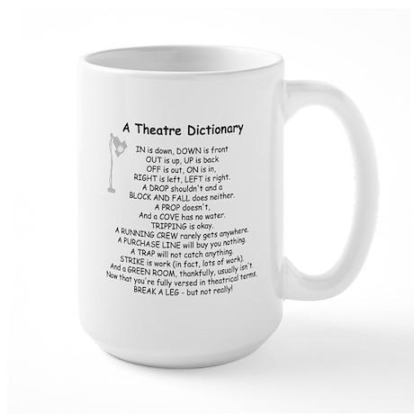 theatrepoemwhite Mugs