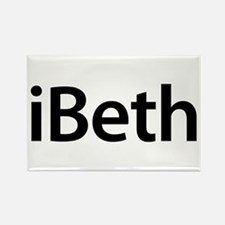 iBeth Rectangle Magnet