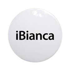 iBianca Round Ornament