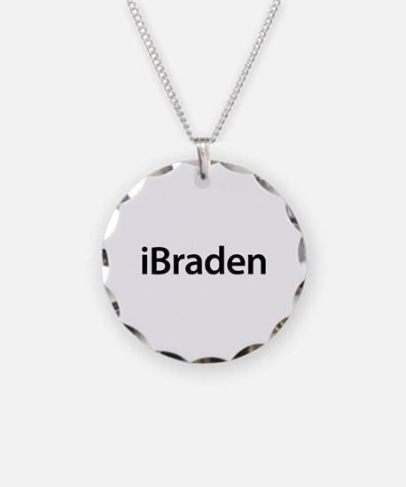 iBraden Necklace Circle Charm