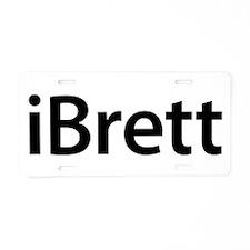 iBrett Aluminum License Plate