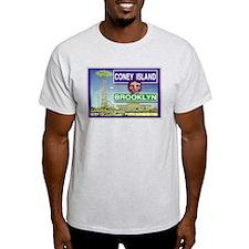 Coney Island Ash Grey T-Shirt