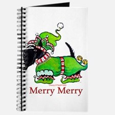 Merry Merry Scottish Terrier Journal