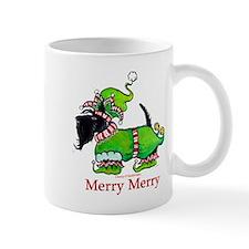 Merry Merry Scottish Terrier Mug