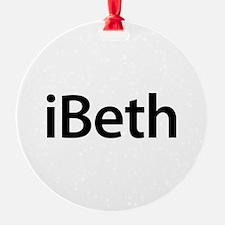 iBeth Ornament