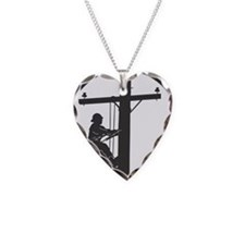 Funny Lineworker Necklace