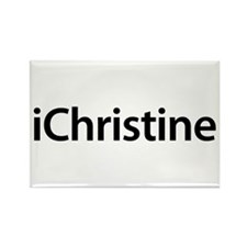 iChristine Rectangle Magnet