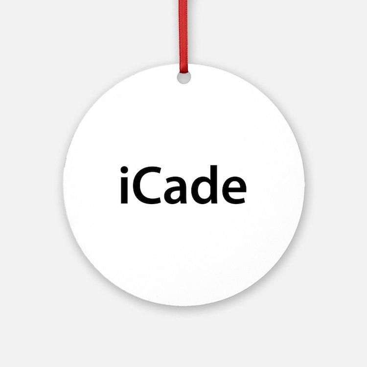 iCade Round Ornament