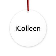 iColleen Round Ornament