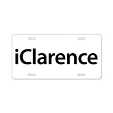 iClarence Aluminum License Plate
