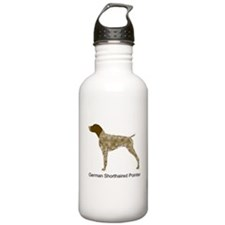 Liver & White GSP Water Bottle