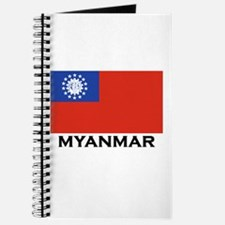 Myanmar Flag Stuff Journal