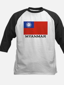 Myanmar Flag Stuff Tee