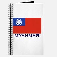 Myanmar Flag Gear Journal