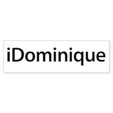 iDominique Bumper Bumper Sticker