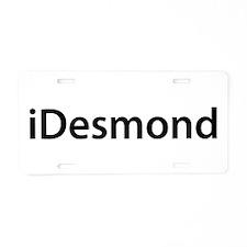 iDesmond Aluminum License Plate