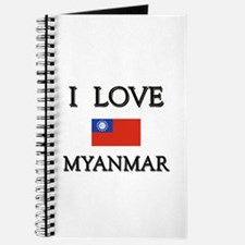 I Love Myanmar Journal
