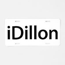 iDillon Aluminum License Plate