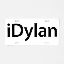 iDylan Aluminum License Plate