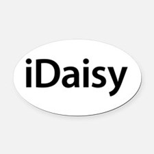 iDaisy Oval Car Magnet