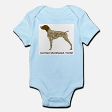 Liver & White GSP Infant Bodysuit