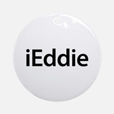 iEddie Round Ornament