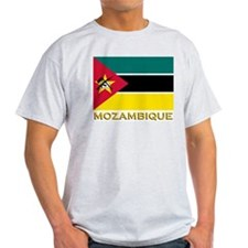 Flag of Mozambique Ash Grey T-Shirt