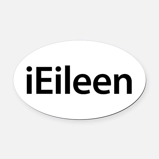 iEileen Oval Car Magnet