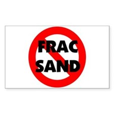 Stop Frac Sand Mining Decal