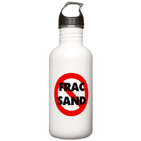 Stop Frac Sand Mining Stainless Water Bottle 1.0L