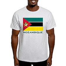 Flag of Mozambique Ash Grey T-Shirt