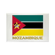 Mozambique Flag Stuff Rectangle Magnet