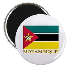 Mozambique Flag Stuff Magnet