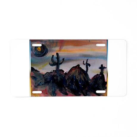 Desert, southwest landscape, art, Aluminum License