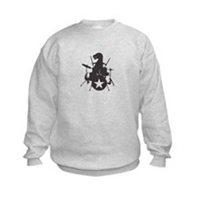 T-Rex Playing the Drums Sweatshirt