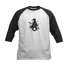 T-Rex Playing the Drums Tee