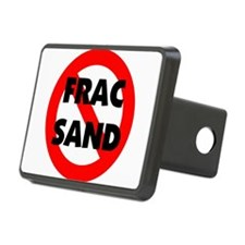 Stop Frac Sand Mining Hitch Cover