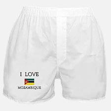 I Love Mozambique Boxer Shorts
