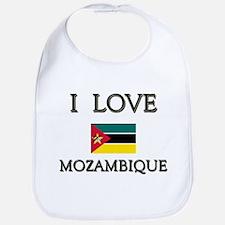 I Love Mozambique Bib
