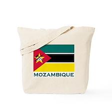Mozambique Flag Merchandise Tote Bag