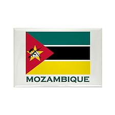 Mozambique Flag Merchandise Rectangle Magnet