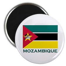 Mozambique Flag Merchandise Magnet